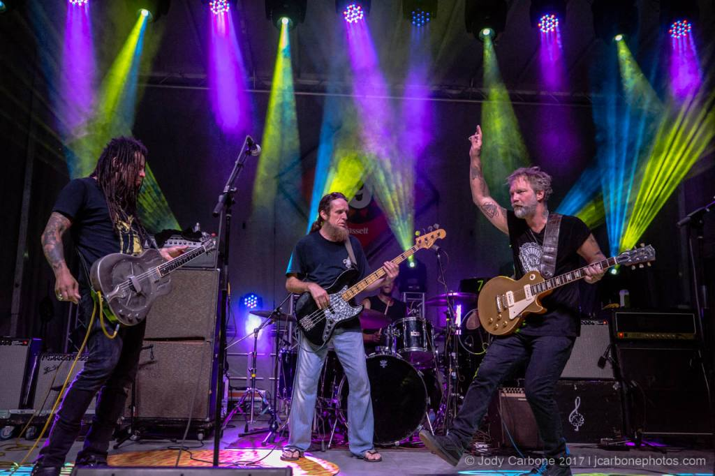 Rooster Walk 9 Anders Osborne 2017 with Eric McFadden Carl Dufrene rady Blade