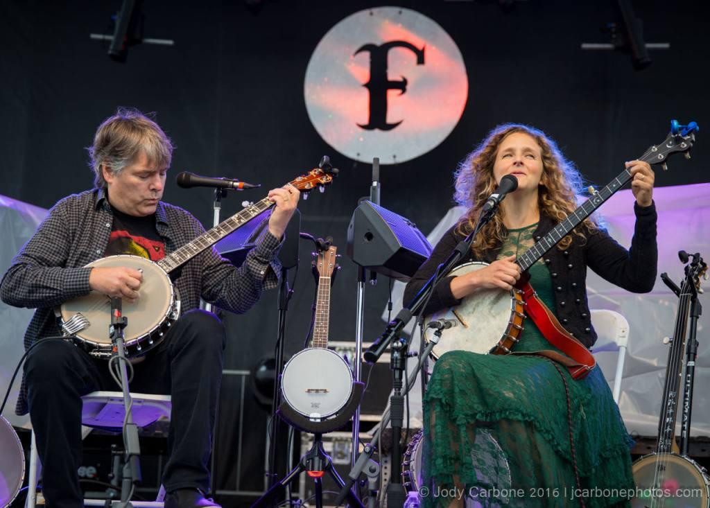 Bela Fleck and Abigail Washburn The Festy Experience 2016