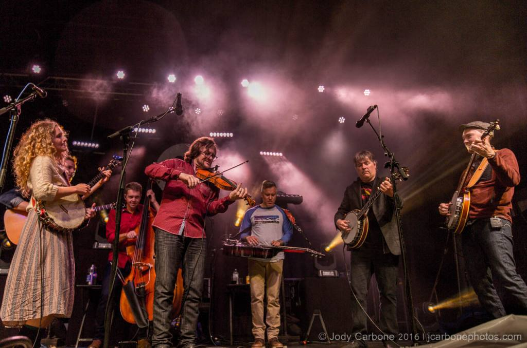 The Infamous Stringdusters Ladies and Gentlemen with Bela Fleck and Abigail Washburn The Festy Experience 2016