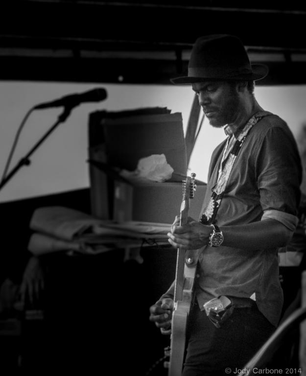 Gary Clark Jr Lockn Festival 2014 09.06.2014