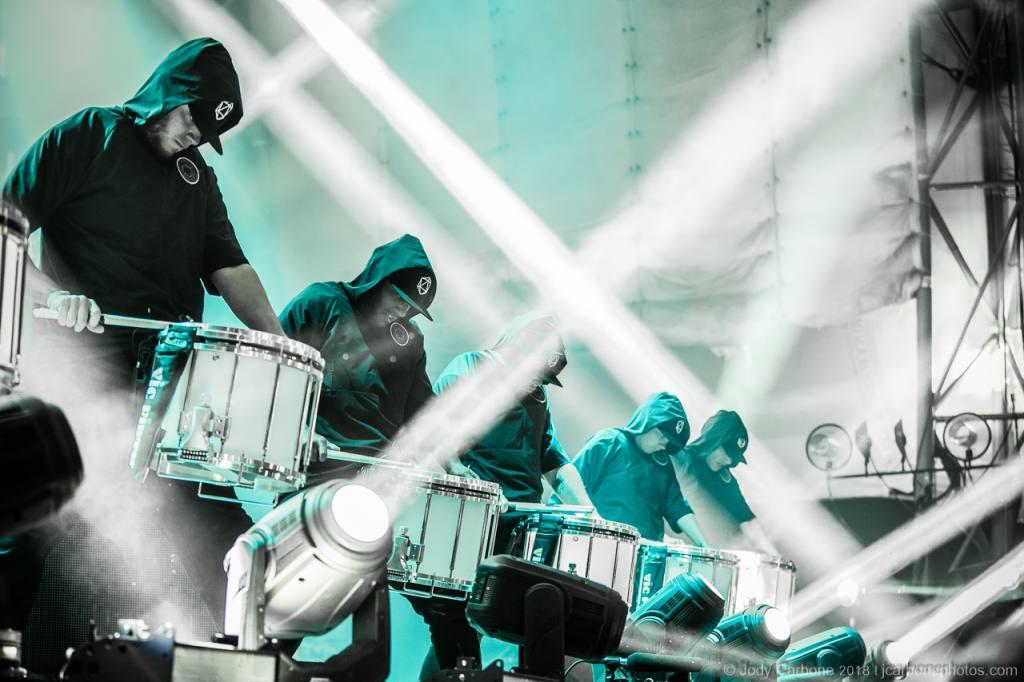 ODESZA drumline Sprint Pavilion 05.01.2018