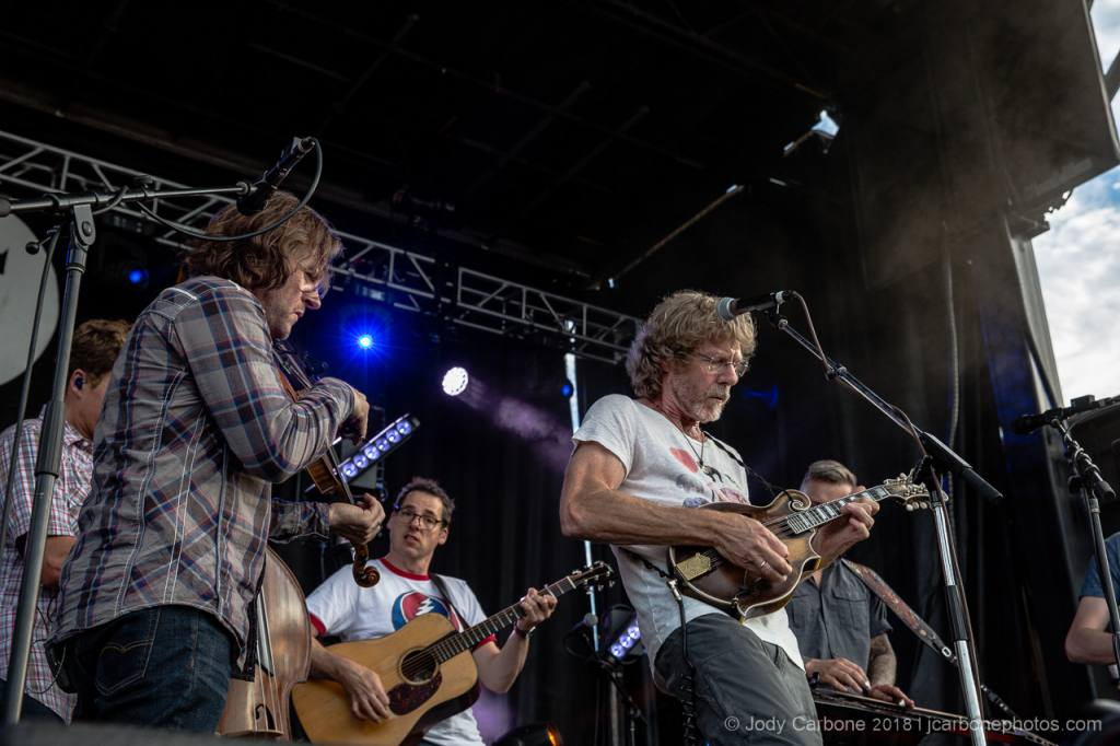 Sam Bush with The Infamous Stringdusters The Festy Experience 2017