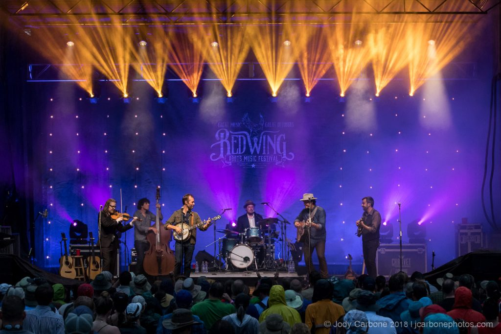 Steep Canyon Rangers Red Wing Roots Music Festival 2018