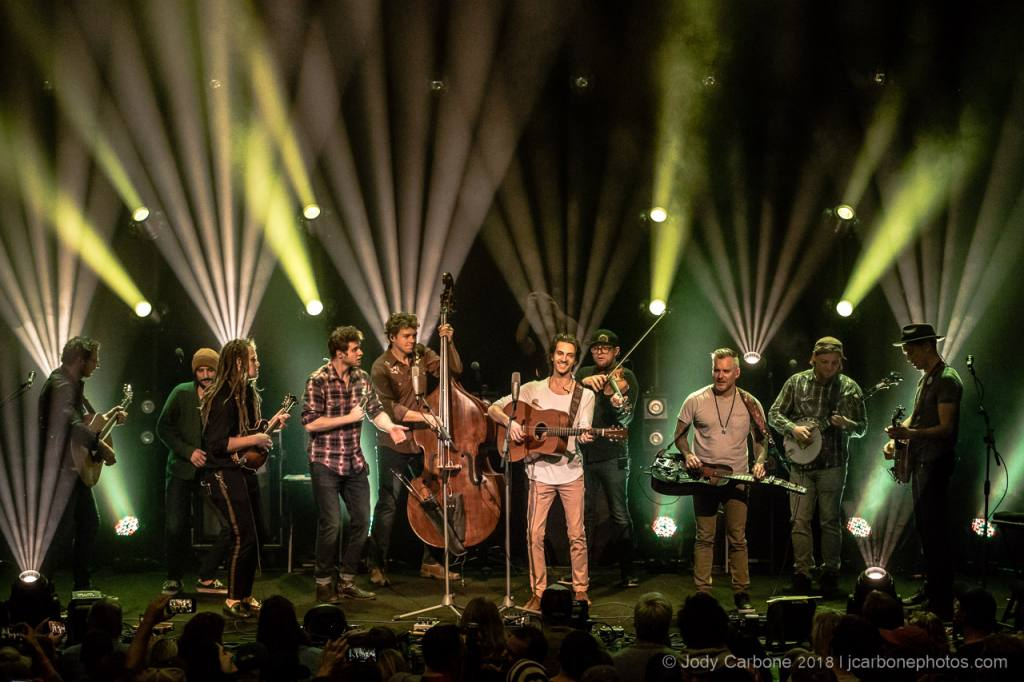 The Infamous Stringdusters encore with The Way Down Wanderers The Jefferson Theater 11.16.2018