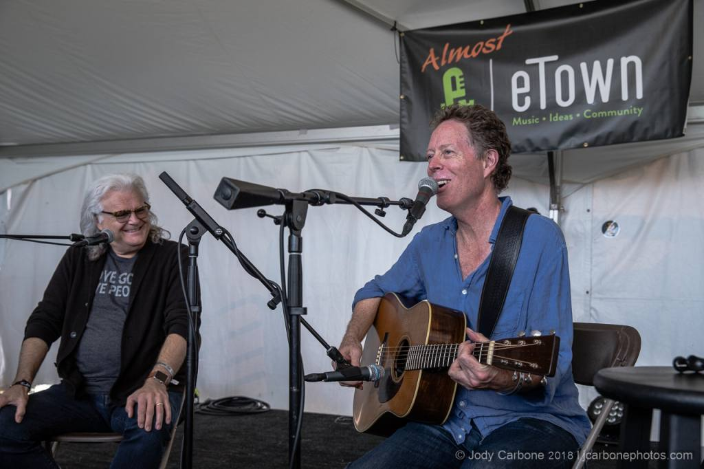 Ricky Skaggs and Nick Forster Almost Etown The Festy Experience 2018