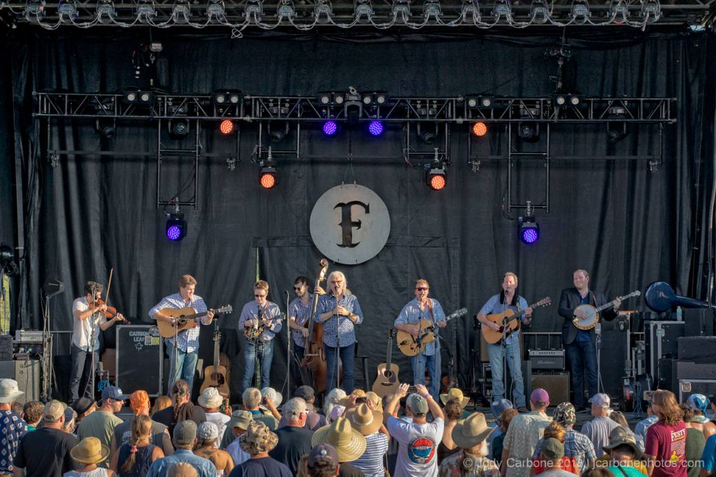 Ricky Skaggs and Kentucky Thunder The Festy Experience 2018