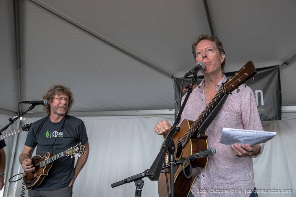 Sam Bush and Nick Forster Almost Etown The Festy Experience 2018