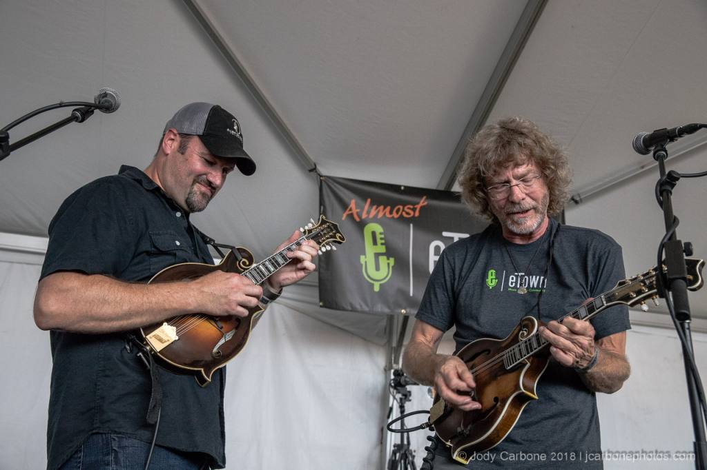 Sam Bush and Stephen Mougin Almost Etown The Festy Experience 2018