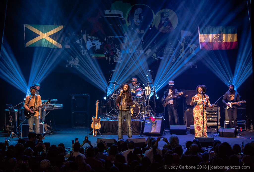The Wailers with original members Junior Marvin and Donald Kinsey The Jefferson Theater 2018